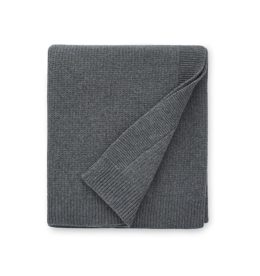 Sferra Pettra Throw in Grey