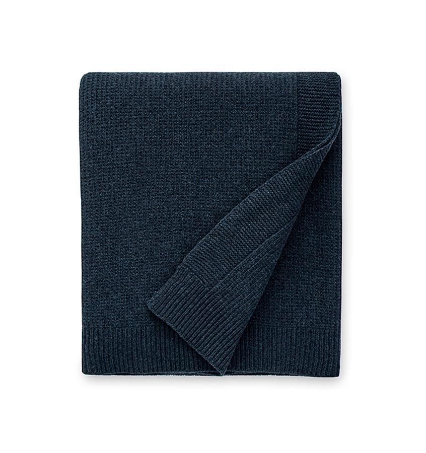 Sferra Pettra Throw in Midnight
