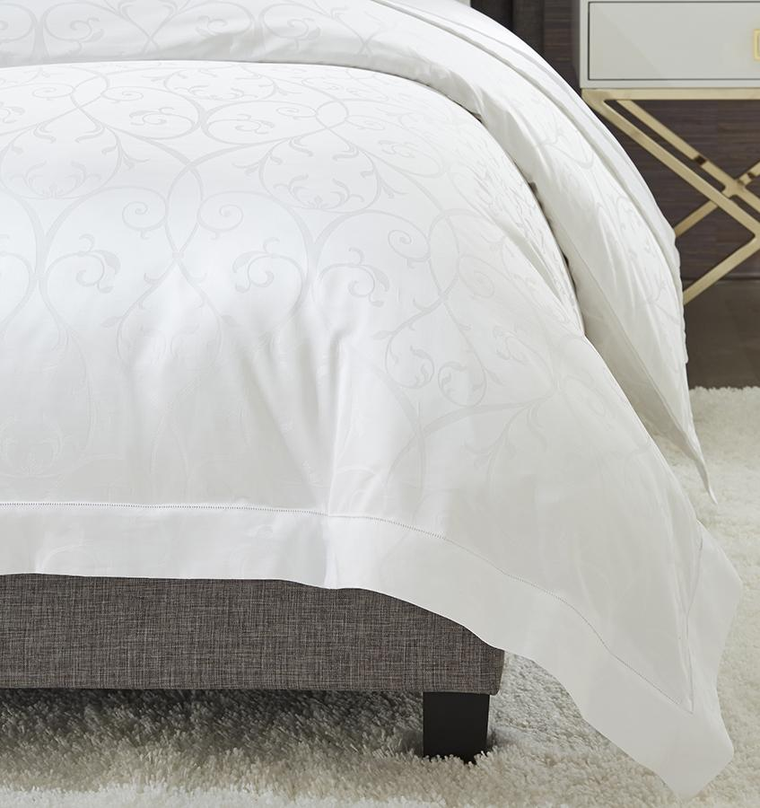 Somina Duvet Cover Detail by Sferra
