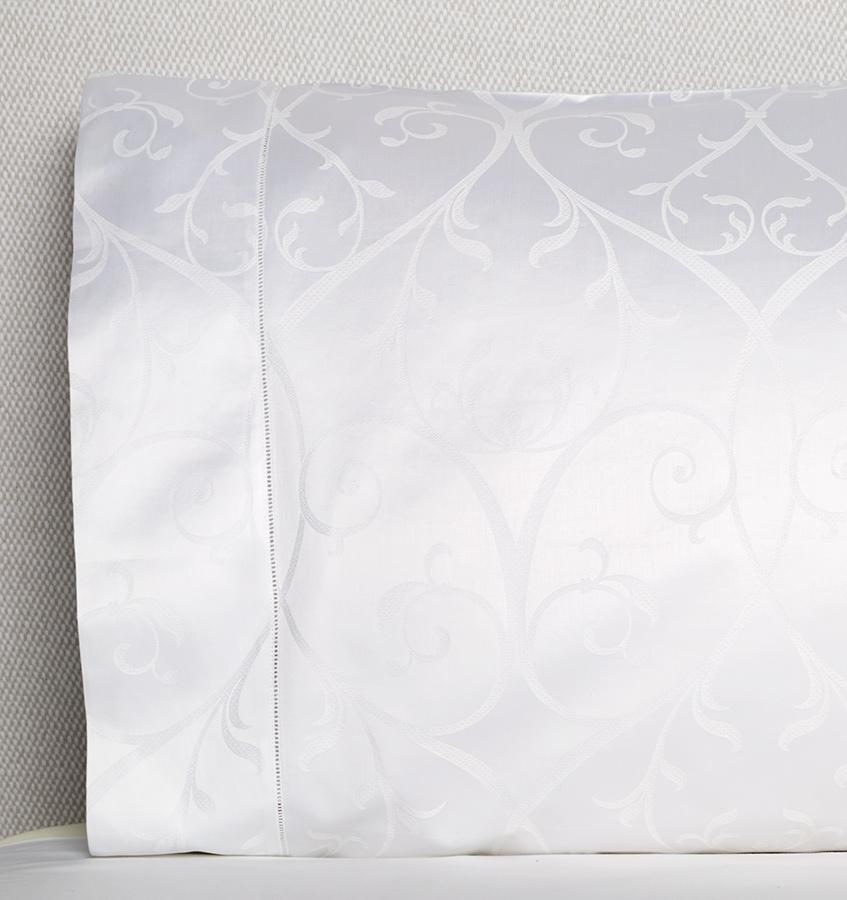 Somina Pillowcase detail  by Sferra