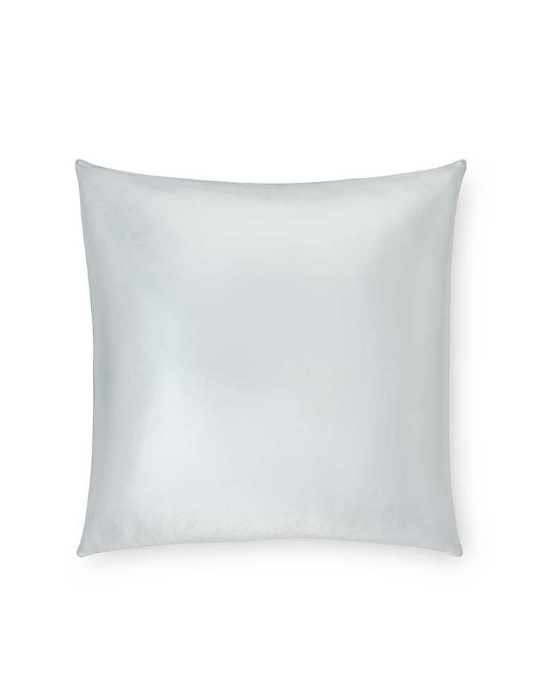 Silver decorative accent throw pillow - Satta by Sferra - Fig Linens