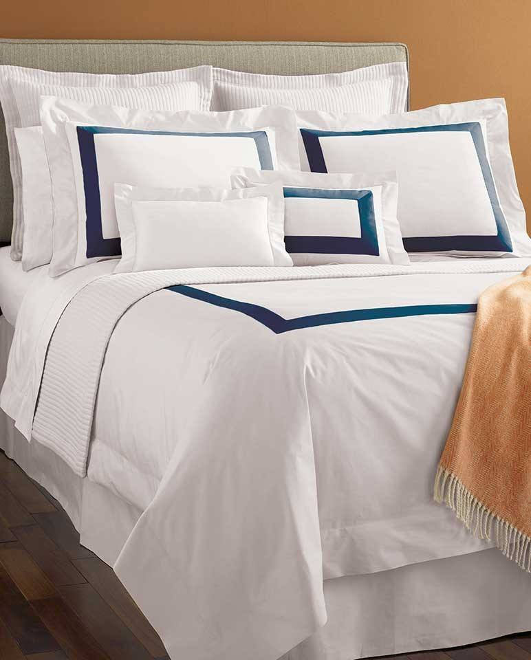 Fig Linens - sferra bedding-orlo cornflower swatch