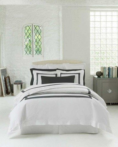 Fig Linens - sferra bedding-orlo navy