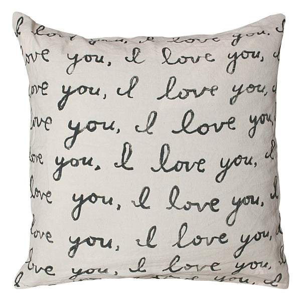 Letter For You Pillow by Sugarboo - Fig Linens