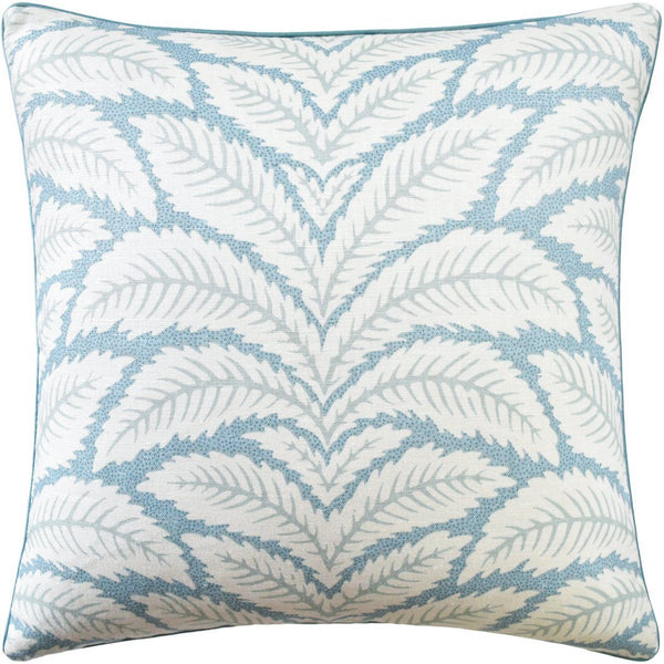talavera aqua pillow - ryan studio at fig linens - kravet - brunschwig