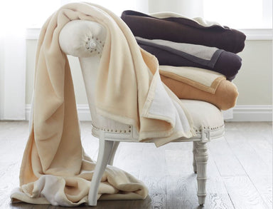 Reversible Cotton Blanket by Scandia Home | Fig Linens