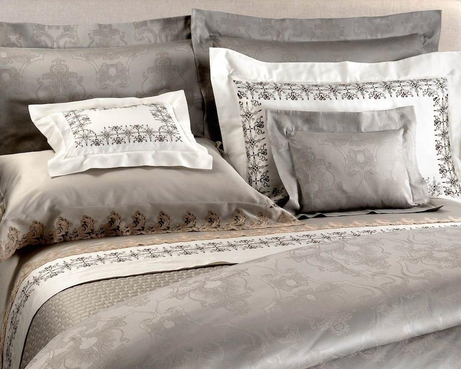 Vanessa Embroidery Bedding by Dea Linens | Fig Linens and Home