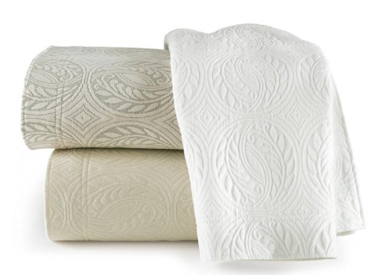 Fig Linens - Vienna Tailored Matelassé Coverlets by Peacock Alley