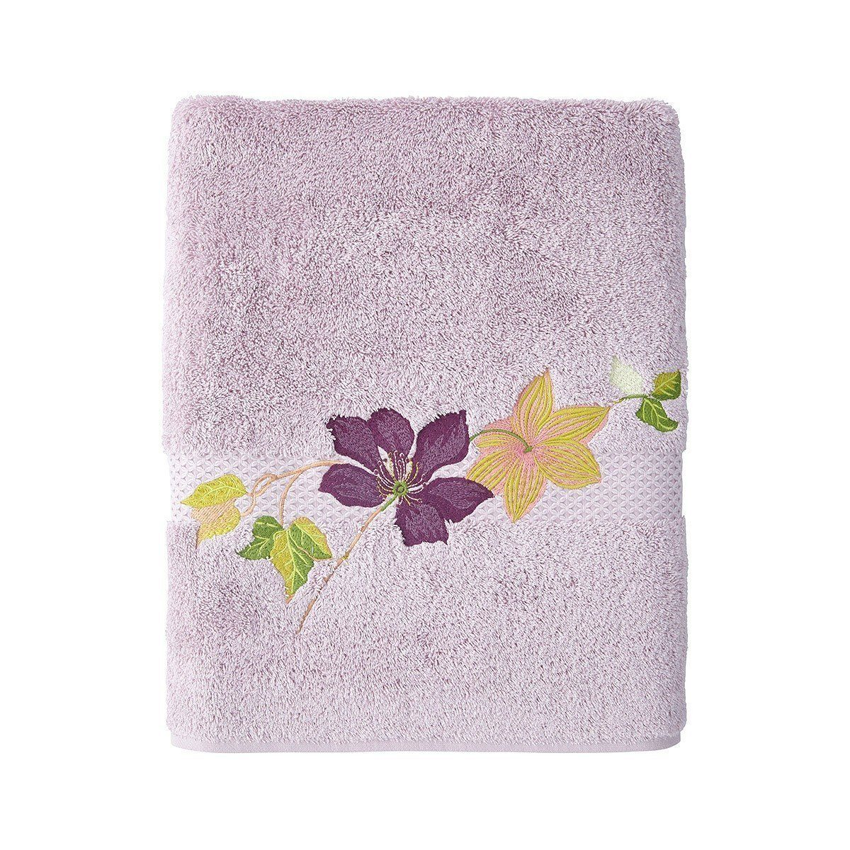 Yves Delorme Clematis Bath Towels