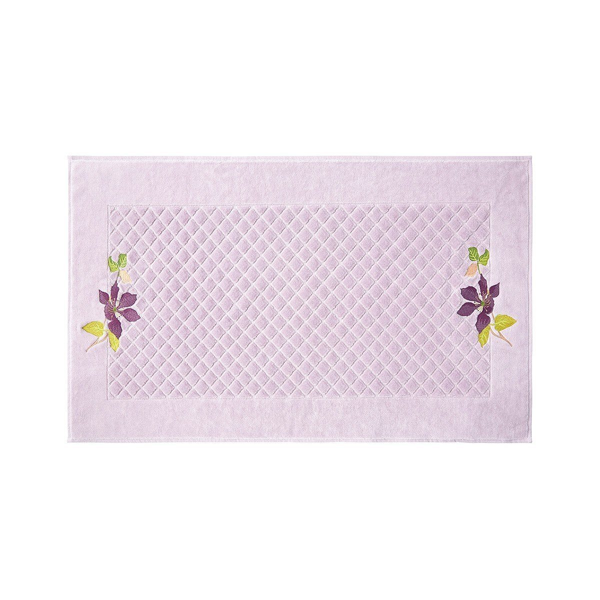 Yves Delorme Clematis Tub Mat - Fig Linens