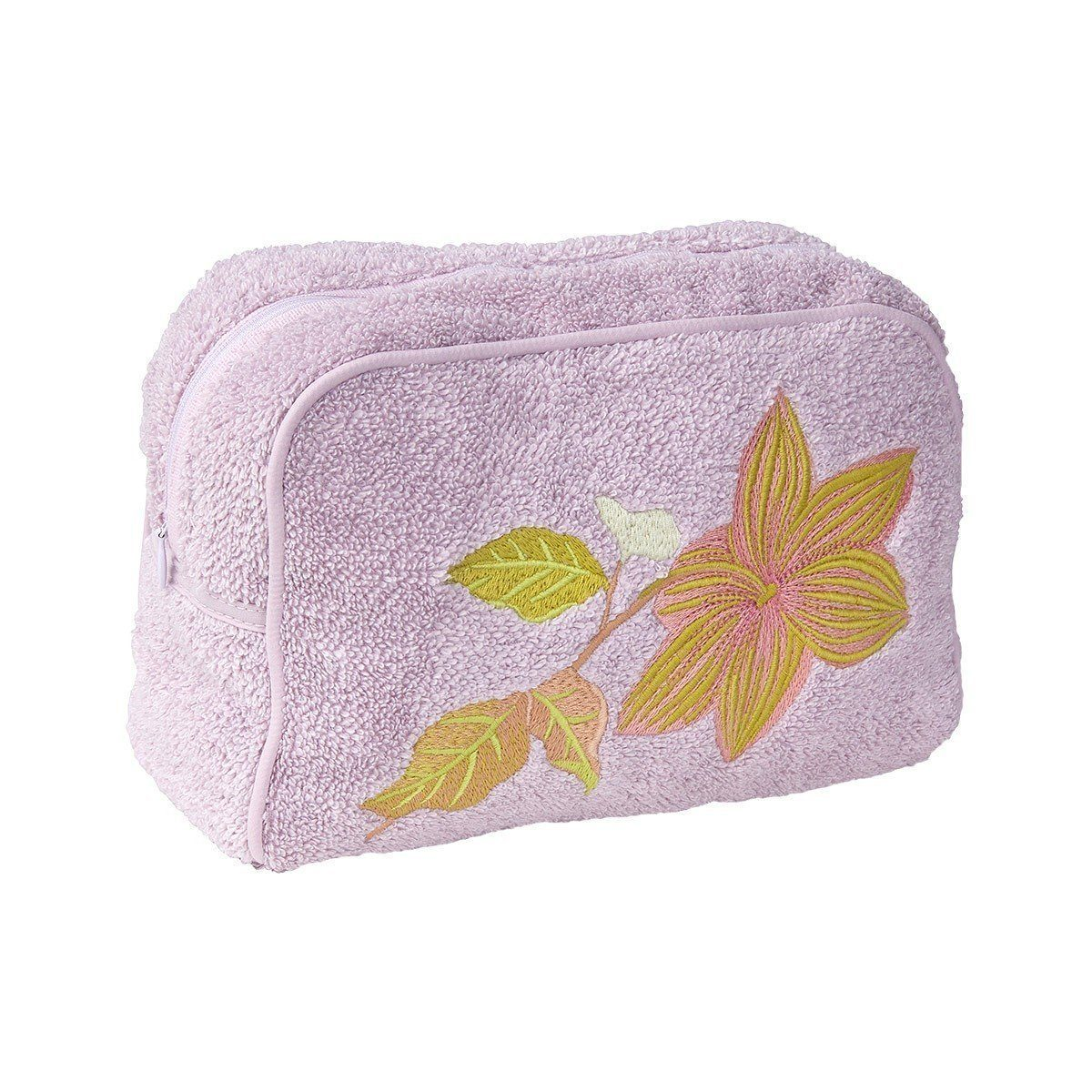 Yves Delorme Clematis Cosmetic Bag - Fig Linens