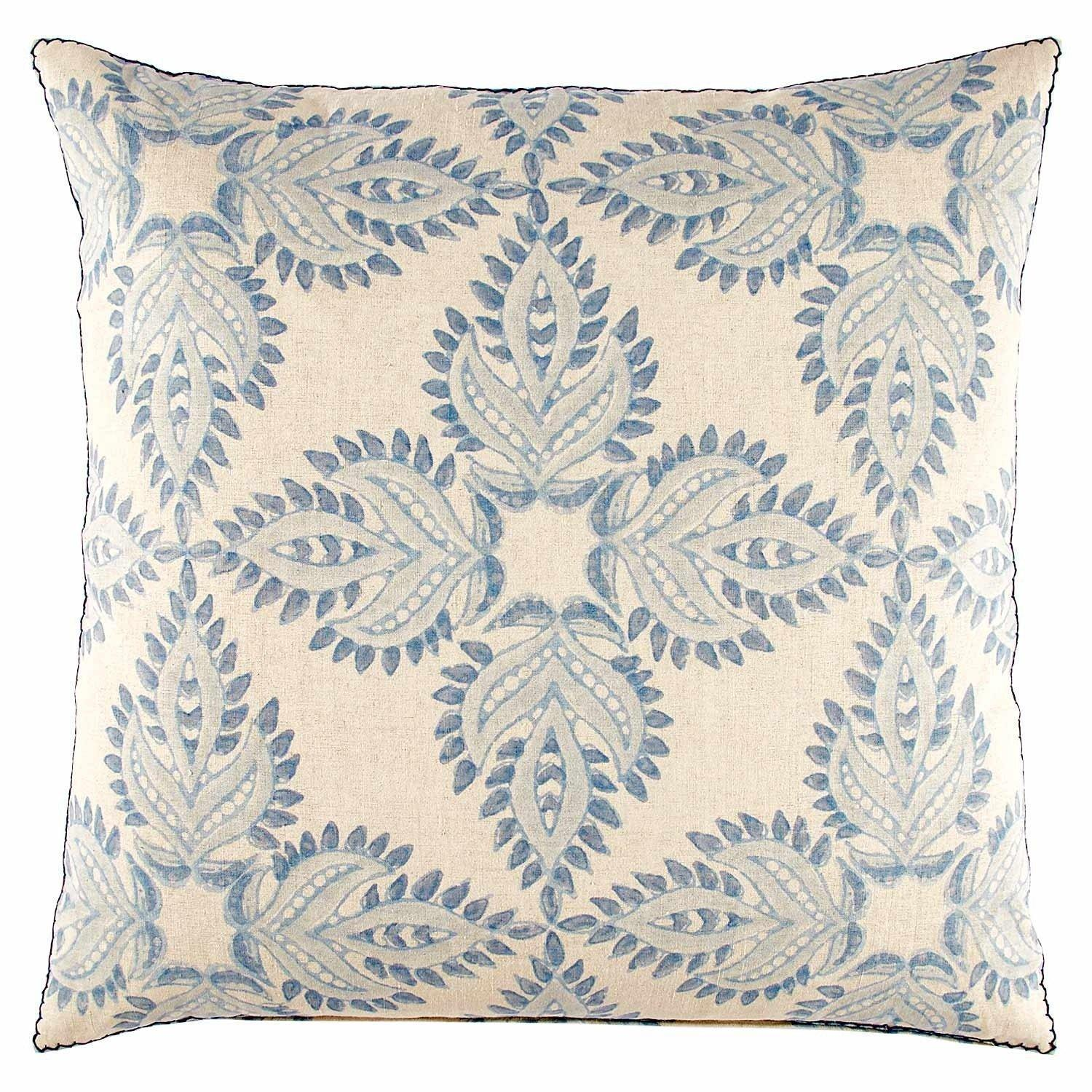Verdin Lapis Euro Pillow
