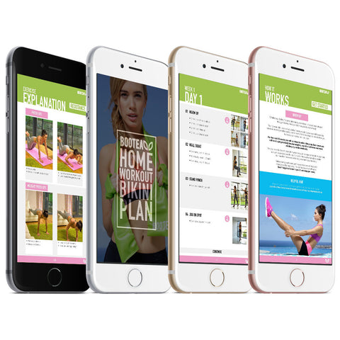 workout guides on smartphone