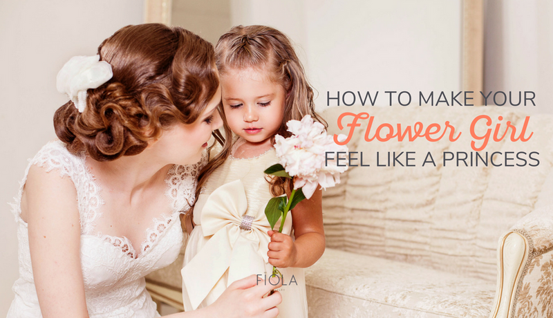 How to Make Your Flower Girl Feel Like a Princess