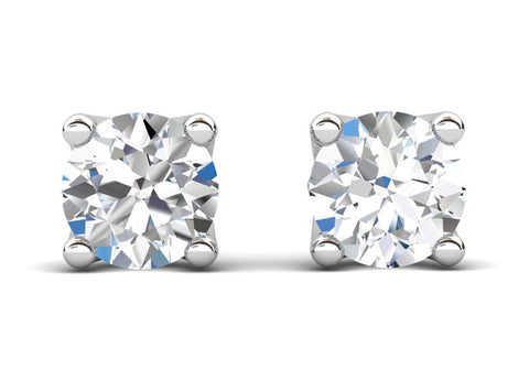 Celebration Solitaire Diamond White Stud