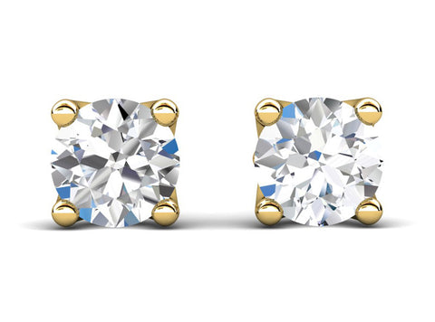 Celebration Solitaire Diamond Stud