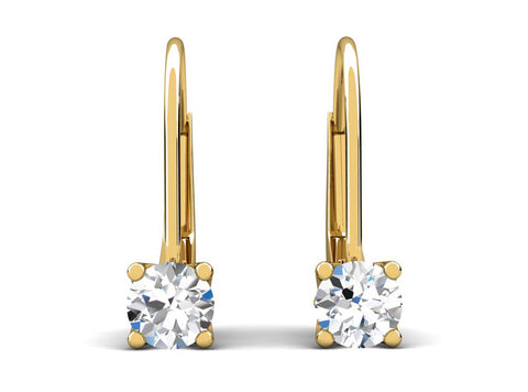 Celebration Solitaire Diamond Lever