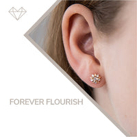 forever flourish diamond earrings for girls jewelry