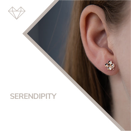 Serendipidy diamond earrings for girls jewelry