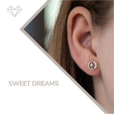 Sweet Dreams diamond earrings for girls jewelry