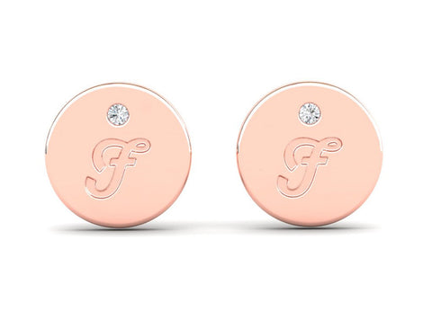 Signature Girl Rose Stud