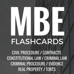 Multistate Bar Exam Flashcards