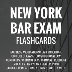 New York Bar Exam Flashcards