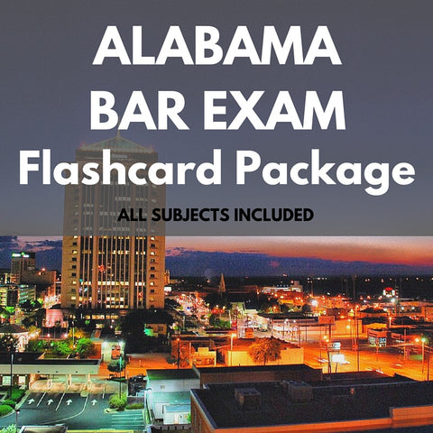 Alabama Bar Exam Package