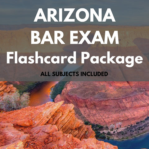 Arizona Bar Exam Flashcard Package