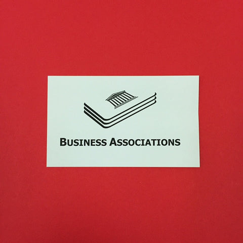 Business Associations Printed Flashcards