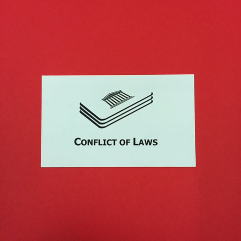 Conflict of Laws Printed Flashcards