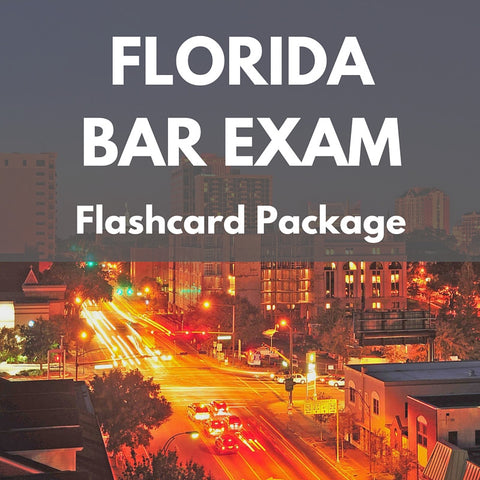 Florida Bar Exam Flashcard Package