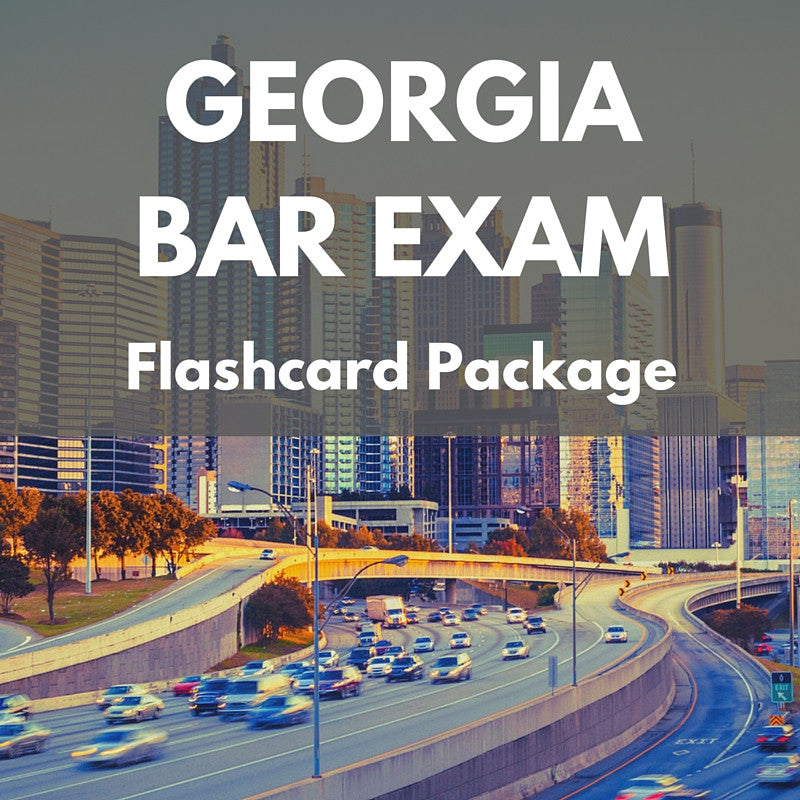 Georgia Bar Exam Flashcard Package