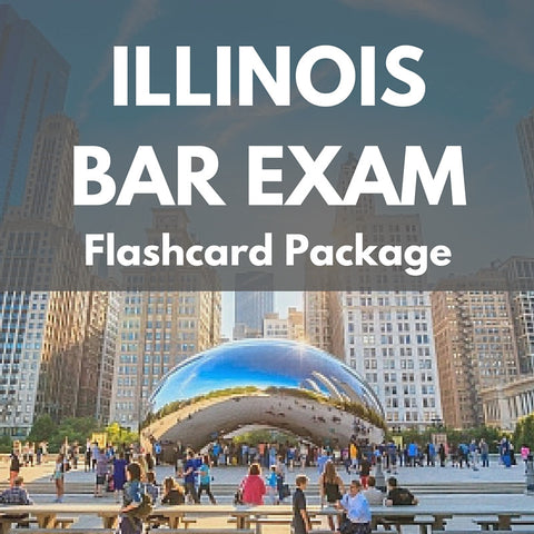 Illinois Bar Exam Flashcard Package