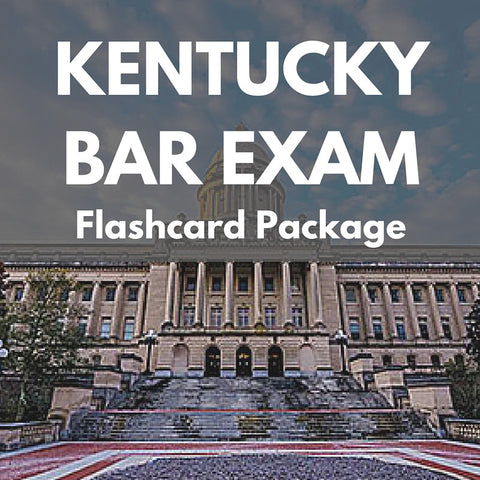 Kentucky Bar Exam Flashcard Package