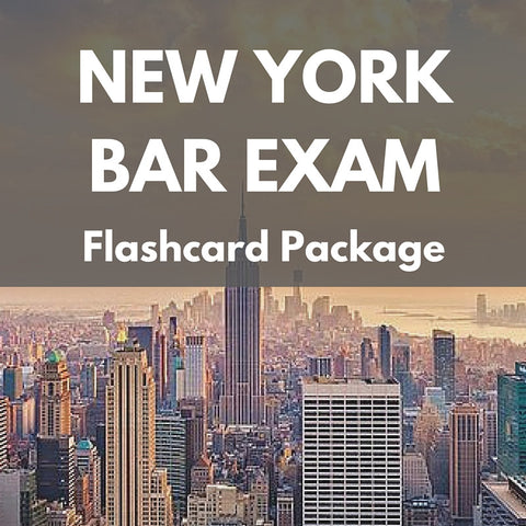 New York Bar Exam Flashcard Package