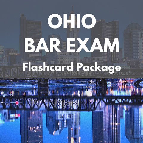 Ohio Bar Exam Flashcard Package