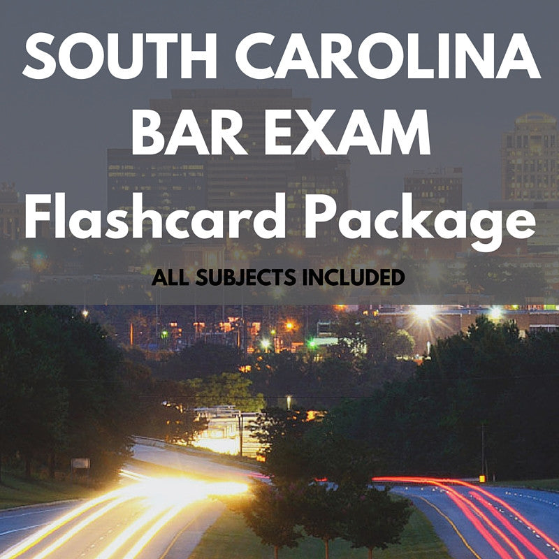 South Carolina Bar Exam Package