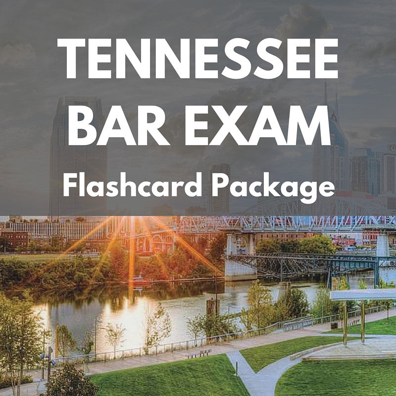 Tennessee Bar Exam Flashcard Package