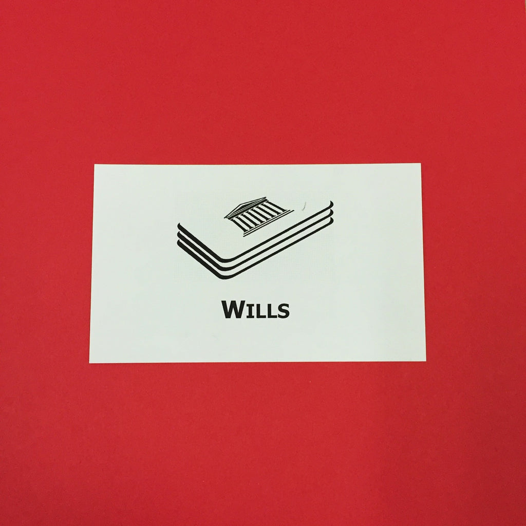 Wills Printed Flashcards