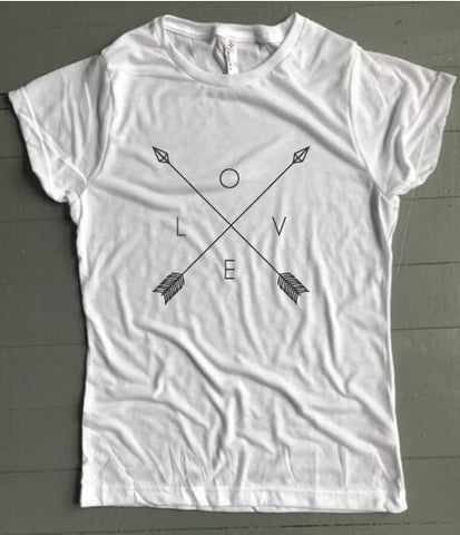 Love Arrows Women's Tee - Weekend Originals