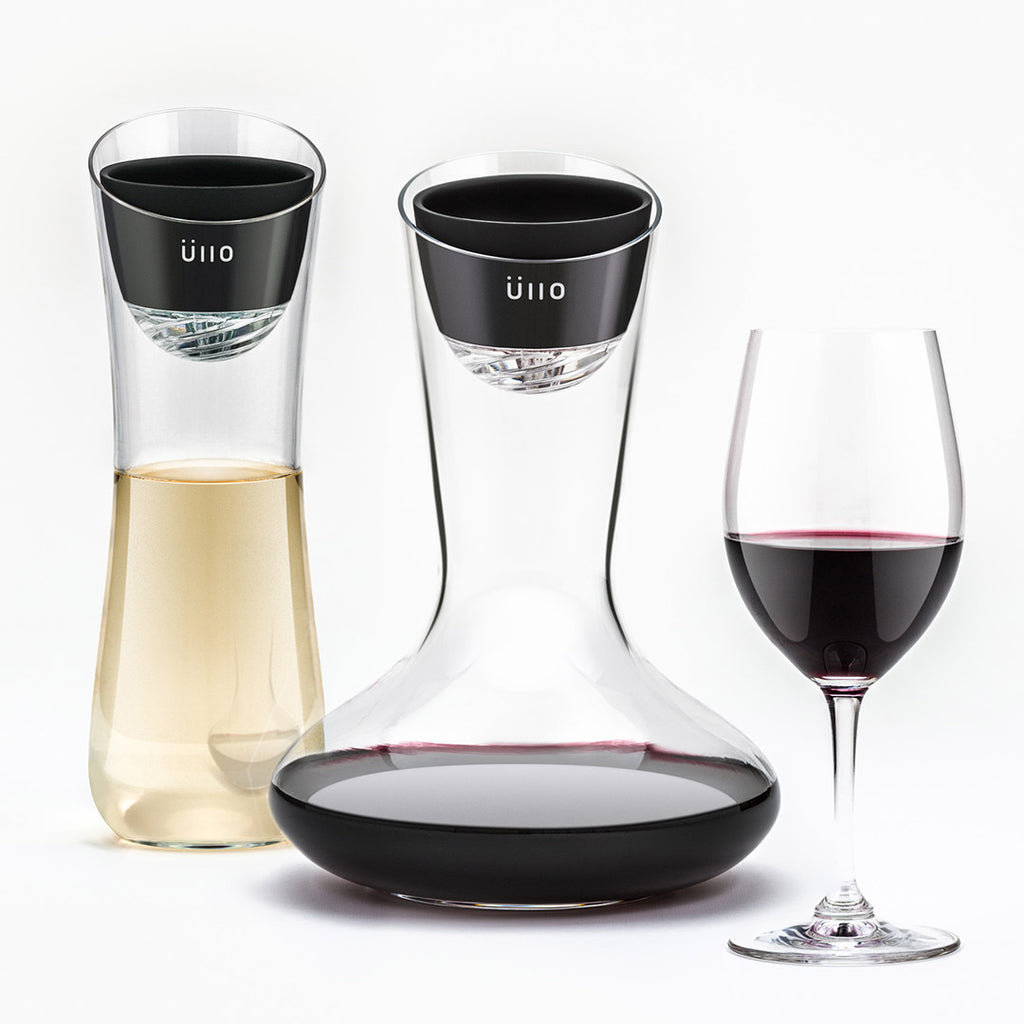 Üllo Wine Purifier Makes Itself at Home in Crate & Barrel