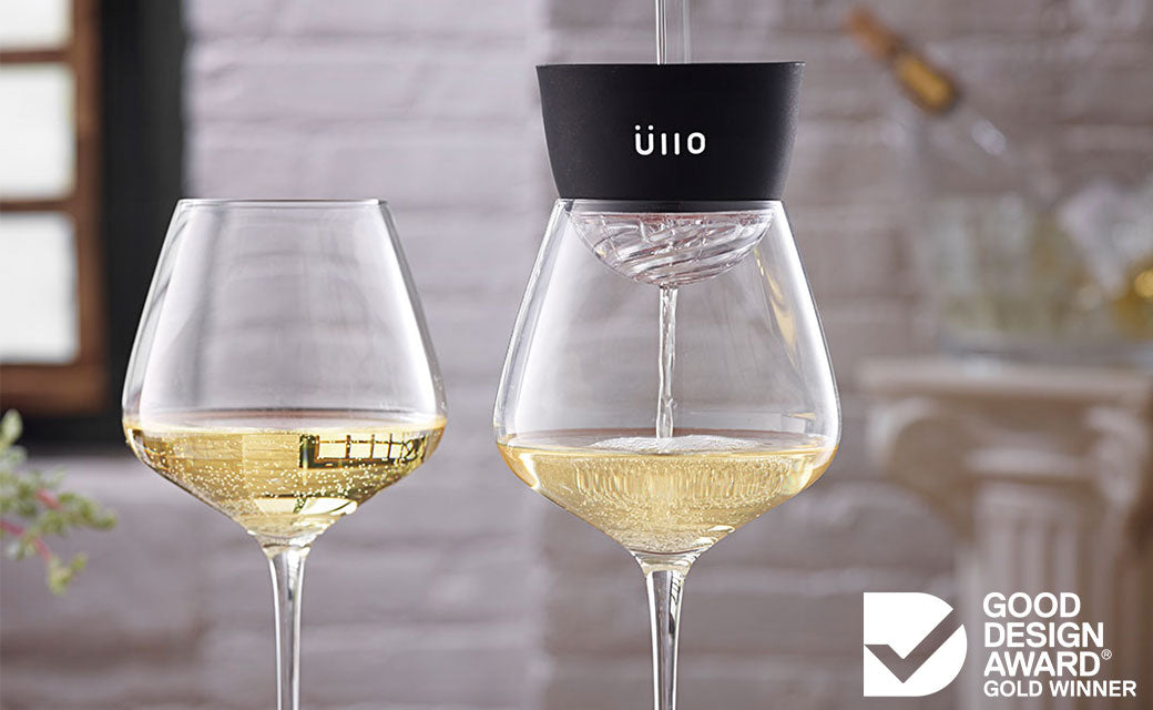 Ullo Wine Purifier Gold Good Design Award Winner