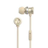 Metallic Earbuds, Gold