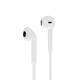 Classic Fit Earbuds, Matte White
