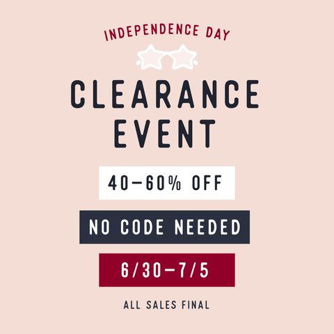 4th of July Clearance