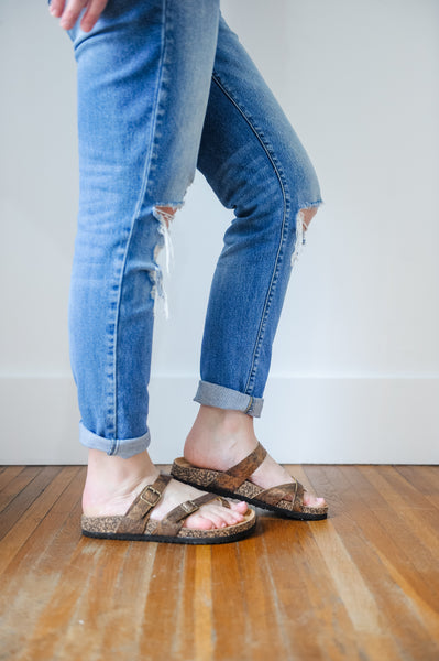 Amelia Strappy Footbed Sandal