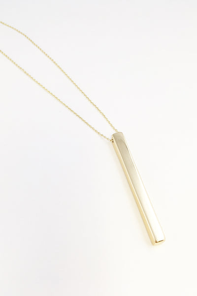 Erica Gold Bar Necklace