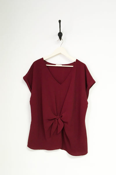 Short Sleeve Gathered Top Plus