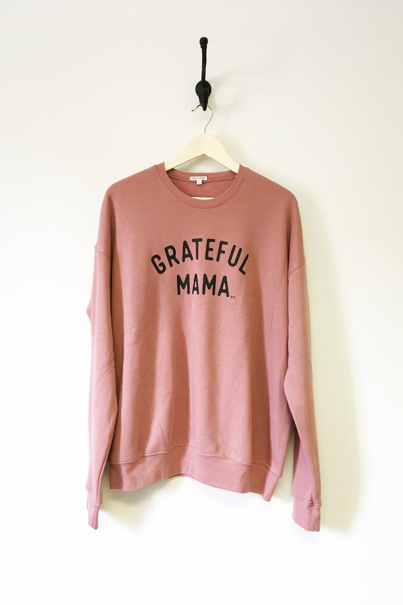 Grateful Mama Crewneck Sweatshirt